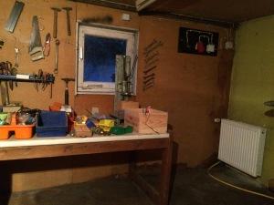 Aufgeräumte Werkstatt